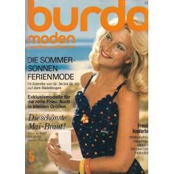 burda Moden 5/Mai 1972 - Die Sommer Sonnen Ferienmode