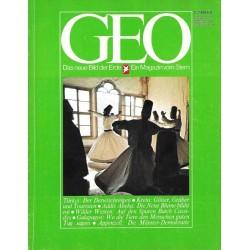 Geo Nr. 1 / Januar 1978 - Der Derwischreigen
