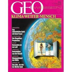 Geo Wissen Nr. 2/1987 - Klima - Wetter - Mensch