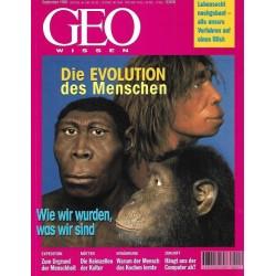 Geo Wissen September/1998 - Die Evolution des Menschen