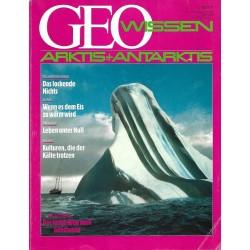 Geo Wissen Nr. 4/1990 - Arktis + Antarktis