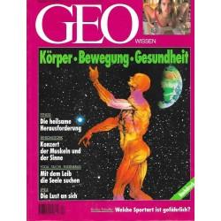 Geo Wissen Nr. 24/1997 - Körper + Bewegung + Geist