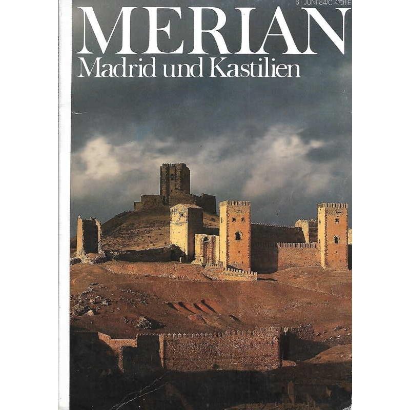 MERIAN Madrid und Kastilien 6/37Juni 1984