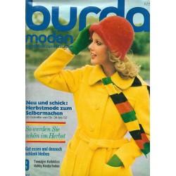 burda Moden 9/September 1972 - Herbstmode zum Selbermachen