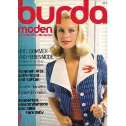 burda Moden 7/Juli 1972 - Hochsommer & Ferienmode