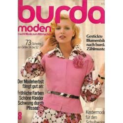 burda Moden 8/August 1972 - Der Modeherbst