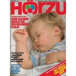 HÖRZU 44 / 1 bis 7 November 1986 - Gesunden Schlaf