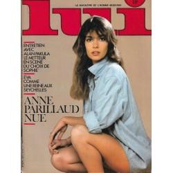 LUI France Nr.4 / April 1983 - Anne Parillaud Nue