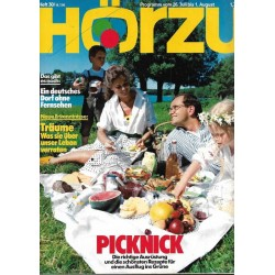 HÖRZU 30 / 26 Juli bis 1 August 1986 - Picknick