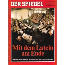 Der Spiegel Nr.26 / 23 Juni 1969 - Mit dem Latein am Ende