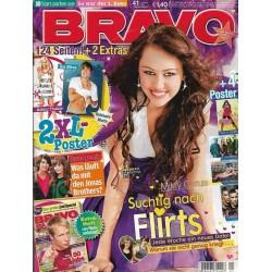 BRAVO Nr.41 / 1 Oktober 2008 - Miley Cyrus süchtig nach Flirts