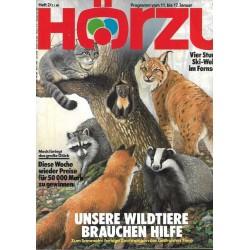 HÖRZU 2 / 11 bis 17 Januar 1986 - Unsere Wildtiere