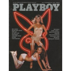 Playboy Nr.12 / Dezember 1976 - Ann Pennington & Deborah Borkman