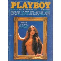 Playboy Nr.6 / Juni 1981 - Brigitte Wöllner