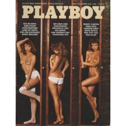 Playboy Nr.11 / November 1976 - Doris Anders