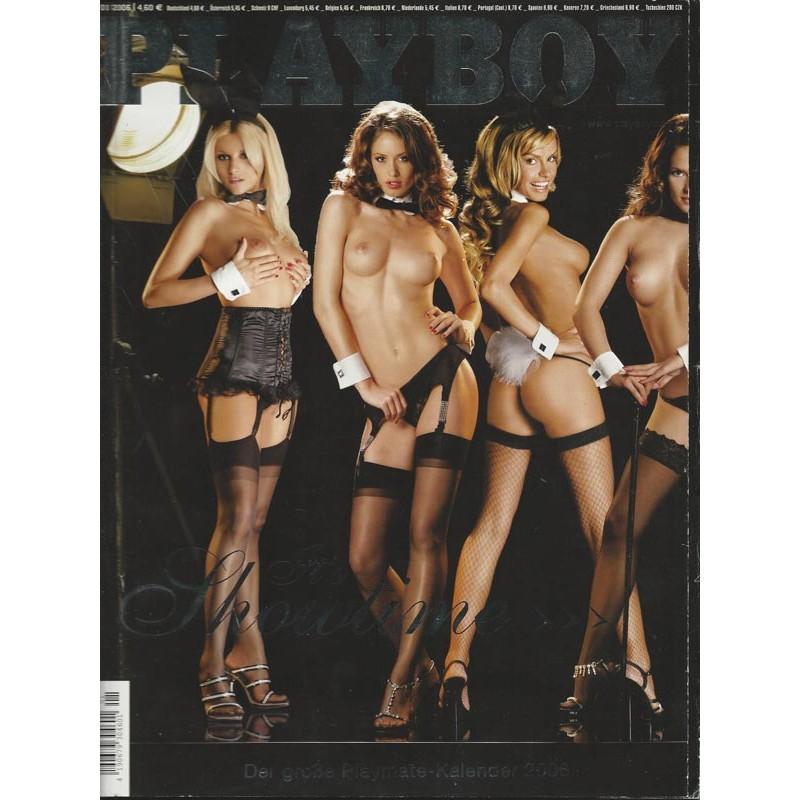 Playboy Nr.1 / Januar 2006 - Mareike Gottwald, Thessa Gierer, Bianca ...