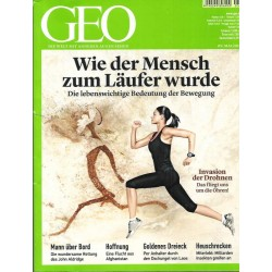 Geo Nr. 5 / Mai 2014 - Wie der Mensch zum Läufer wurde