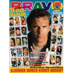 BRAVO Nr.7 / 6 Februar 1992 - Kevin Costner