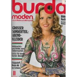 burda Moden 11/November 1975 - Abendkleider