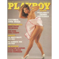 Playboy Nr.4 - April 1985 - Petra Hoffmann
