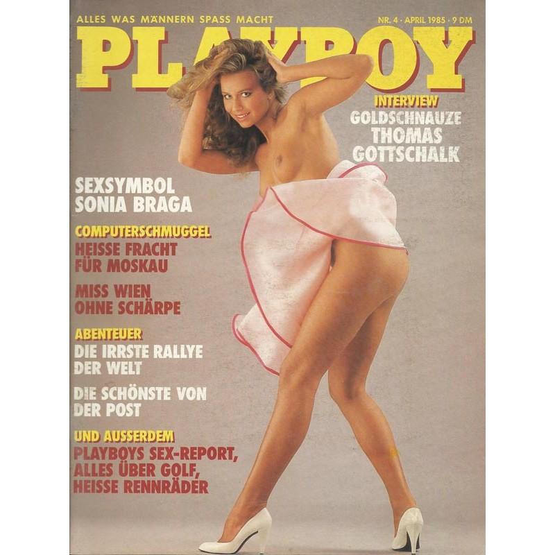 Playboy Nr.4 - April 1985 - Petra Hoffmann