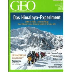 Geo Nr. 2 / Februar 2014 - Das Himalaya Experiment