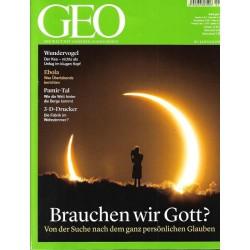 Geo Nr. 1 / Januar 2015 - Brauchen wir Gott?