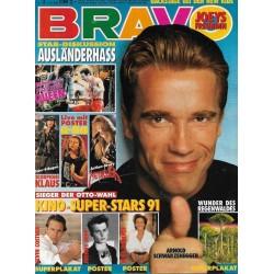 BRAVO Nr.3 / 9 Januar 1992 - Arnold Schwarzenegger