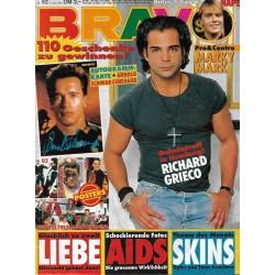 BRAVO Nr.52 / 17 Dezember 1991 - Richard Grieco