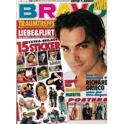 BRAVO Nr.4 / 16 Januar 1992 - Superstar Richard Grieco