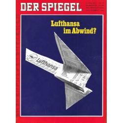 Der Spiegel Nr.23 / 2 Juni 1969 - Lufthansa im Abwind?