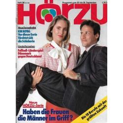 HÖRZU 38 / 20 bis 26 September 1986 - Frauen und die Männer!