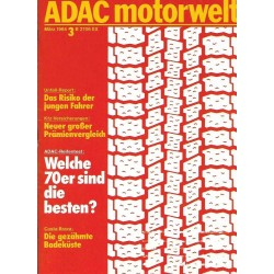 ADAC Motorwelt Heft.3 / März 1984 - Welche 70er sind die besten?