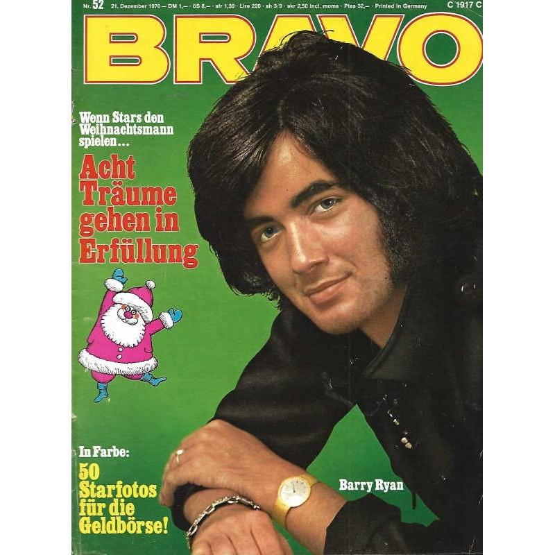 BRAVO Nr.52 / 21 Dezember 1970 - Barry Ryan