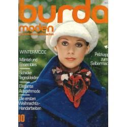 burda Moden 10/Oktober 1971 - Pelzkappen zum Selbermachen