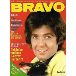 BRAVO Nr.23 / 31 Mai 1971 - Chris Roberts