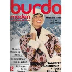 burda Moden 12/Dezember 1971 - Mollig warmes