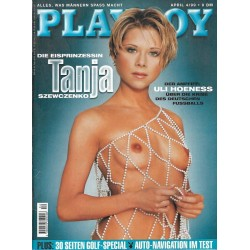 Playboy Nr.4 / April 1999 - Tanja Swewczenko