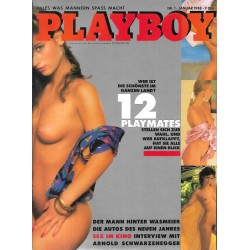 Playboy Nr.1 / Januar 1988 - 12 Playmates
