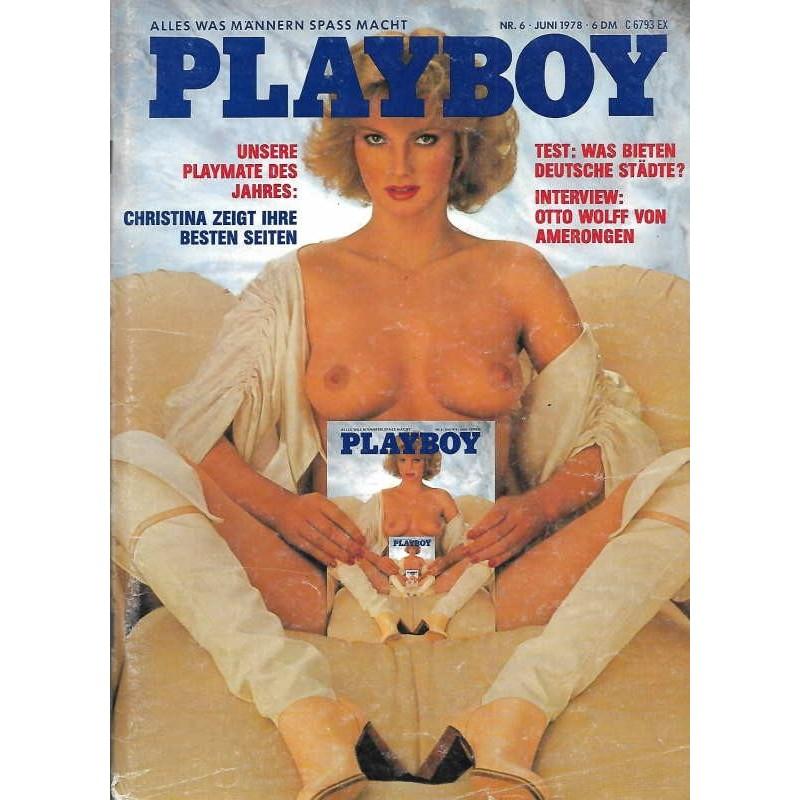 Playboy Nr.6 / Juni 1978 - Christina Egger