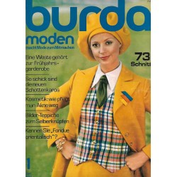 burda Moden 1/Januar 1972 - Schlagermodell