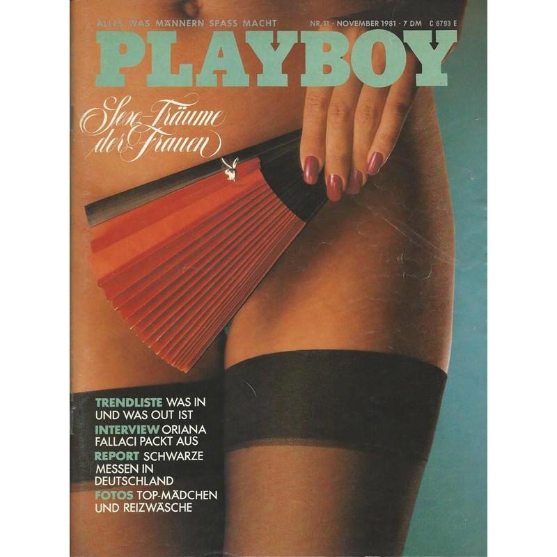 Playboy Nr.11 / November 1981 - Playmate Susan Smith