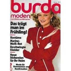 burda Moden 2/Februar 1980 - Das trägt man im Frühling!