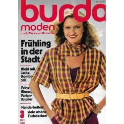 burda Moden 3/März 1980 - Frühling in der Stadt