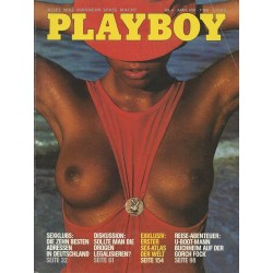 Playboy Nr.4 / April 1981 - Eleonora Vallone