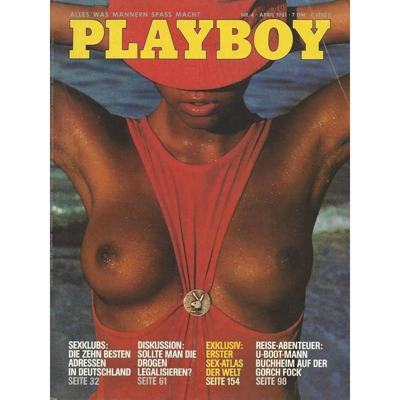 Playboy Nr.4 / April 1981 - Eleonora Vallone