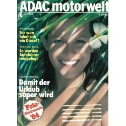 ADAC Motorwelt Heft.6 / Juni 1984 - Tips für unterwegs