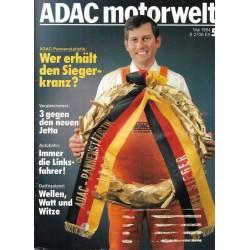 ADAC Motorwelt Heft.5 / Mai 1984 - Wer erhält den Siegerkranz?