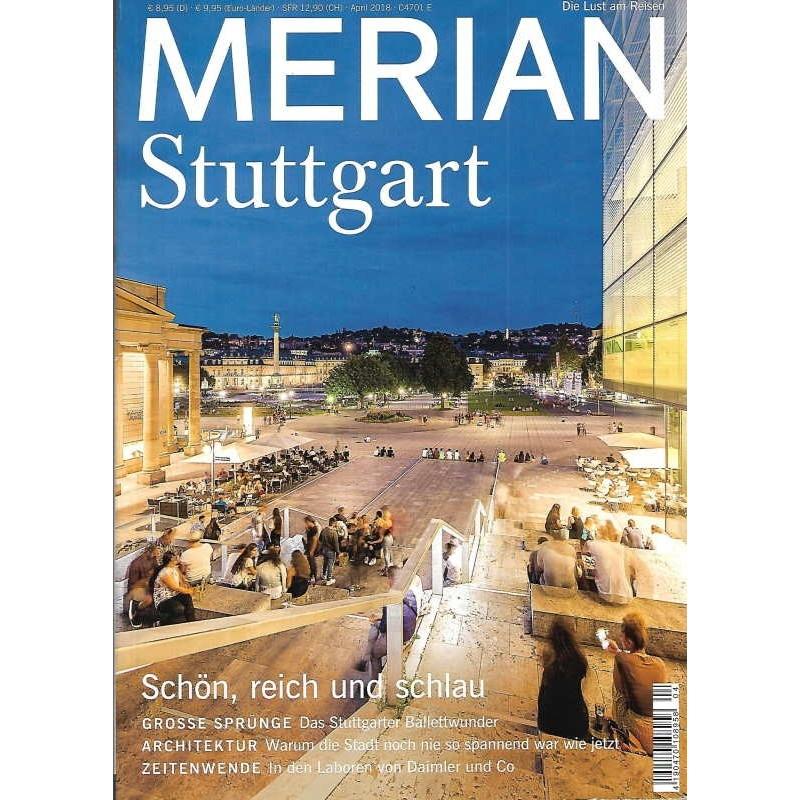 MERIAN Stuttgart 4/71 April 2018