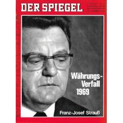 Der Spiegel Nr.21 / 19 Mai 1969 - Währungsverfall 1969